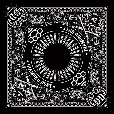 Bandana Diamond Dust Noir