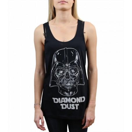 Débardeur Diamond Dust Tête de mort Vador