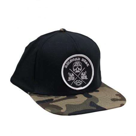Cap Diamond Camo/Black Cross