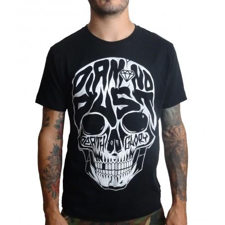 T-shirt Diamond Dust Skull Typo