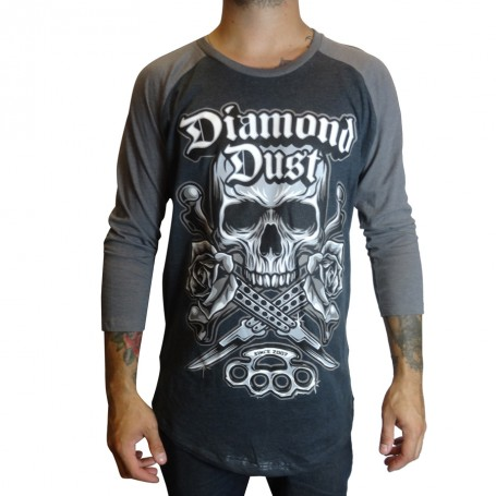 T-Shirt Diamond Dust Kniff BB Gris