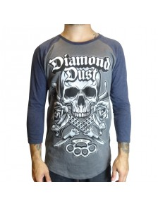 T-Shirt Diamond Dust Kniff BB Bleu