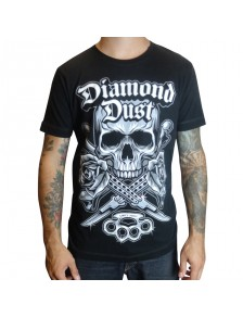 T-Shirt Diamond Dust Kniff Noir