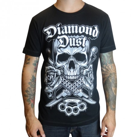T-Shirt Diamond Dust Kniff Noir