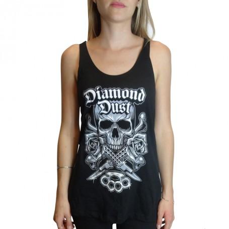 T-Shirt Diamond Dust Kniff Black Girl