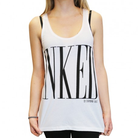 Tank Inked Girl White