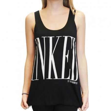 Tank Inked Girl Black