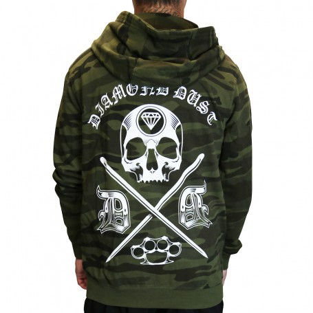 Sweat Cross Skull Camo