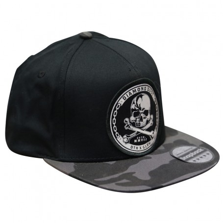 Cap Snap Skuly Grey