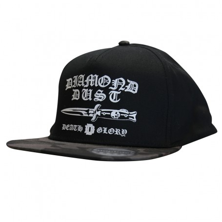 Cap SnapBack Gotik Black/DCamo