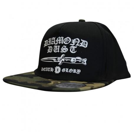 Cap SnapBack Gotik Black/Camo