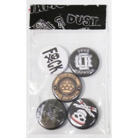 5 Badges Diamond Dust