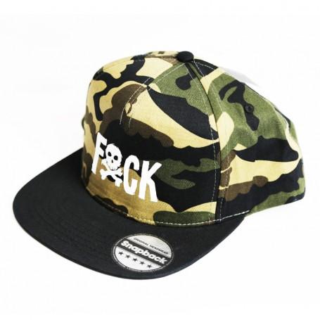 SnapBack Fock Camo Black