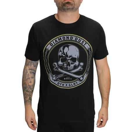 T-Shirt Skully Black