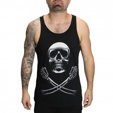 Tank Pirate Black