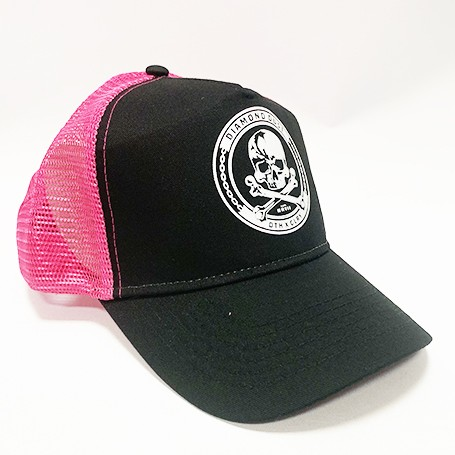 Casquette Skuly Rose