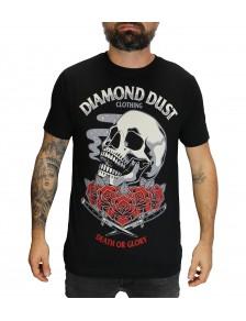 T-Shirt Roskull Noir Homme